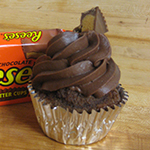Reese Peanut Butter Cup Blast Cupcakes